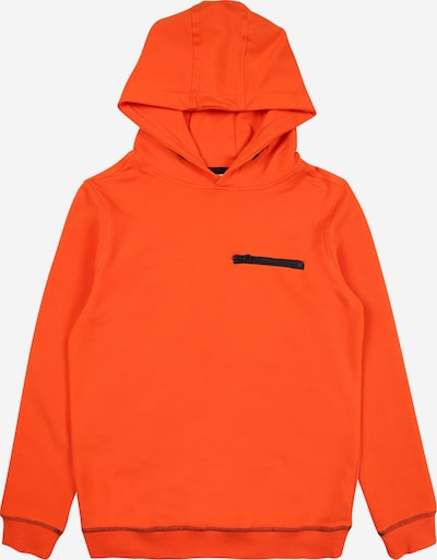 NAME IT Sweatshirt in neonorange / schwarz, Produktansicht