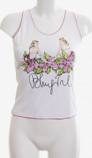 Blugirl Cropped Top in M in grün / pink / weiß, Produktansicht