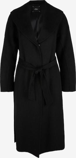 s.Oliver BLACK LABEL Tussenmantel in de kleur Zwart, Productweergave