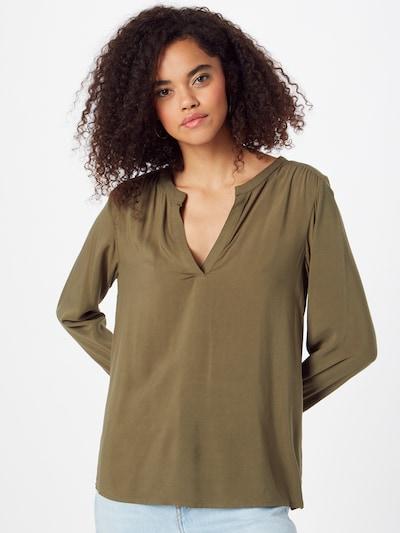 ICHI Bluse in grün, Modelansicht