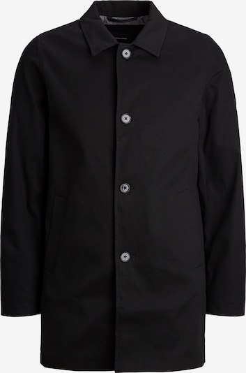Jack & Jones Plus Between-seasons coat 'CAPE' in black, Item view