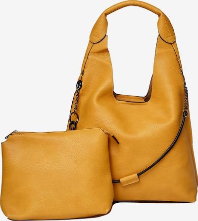 HARPA Schultertasche plus Kosmetiktasche in gelb, Produktansicht