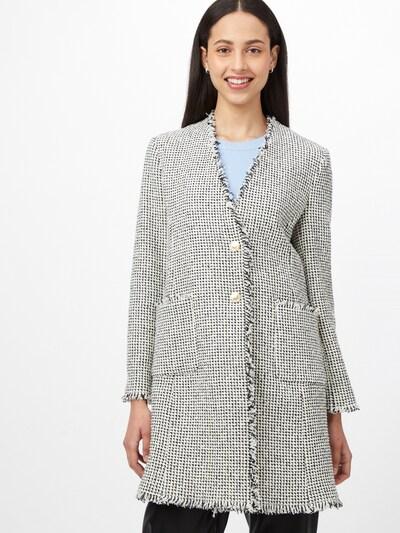 Palton de primăvară-toamnă PINKO pe negru / alb, Vizualizare model