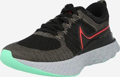 Bėgimo batai 'React Infinity' iš NIKE, spalva – pilka / raudona / juoda, Prekių apžvalga
