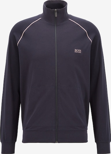 BOSS Casual Jacke in dunkelblau / weiß, Produktansicht