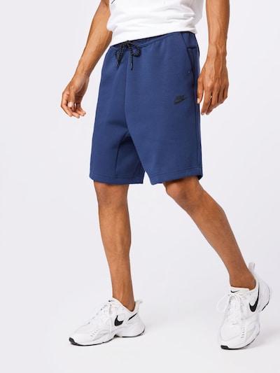 Nike Sportswear Kalhoty - marine modrá / černá, Model/ka