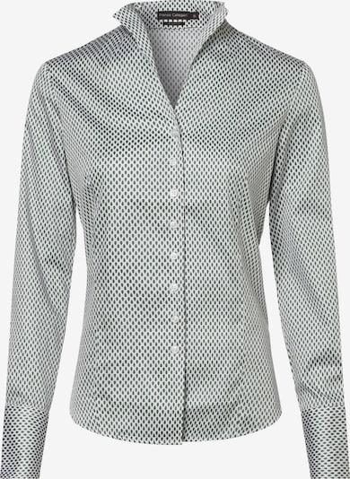 Franco Callegari Bluse in grün / weiß, Produktansicht