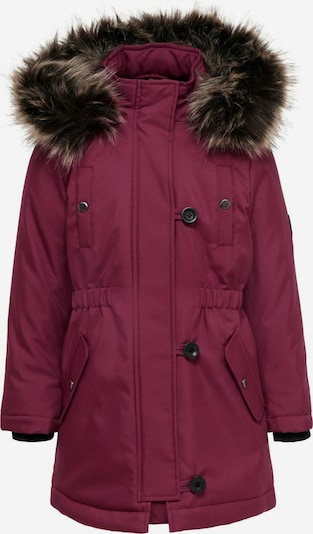KIDS ONLY Winterjas in de kleur Cyclaam / Donkerroze, Productweergave