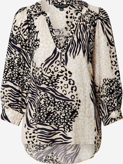 Dorothy Perkins Shirt in beige / schwarz / weiß, Produktansicht