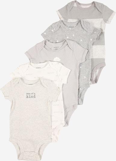 Carter's Body in beige / grau / hellgrau, Produktansicht