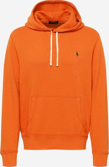 Polo Ralph Lauren Sweatshirt in dunkelgrün / orange, Produktansicht