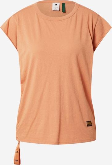 G-Star RAW T-shirt i aprikos / svart, Produktvy