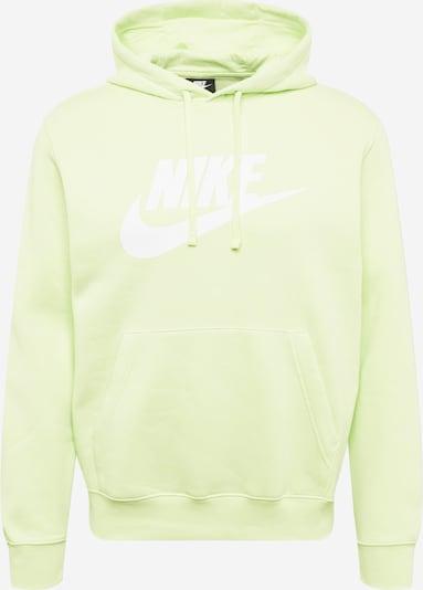 Nike Sportswear Sweatshirt in limette / weiß, Produktansicht