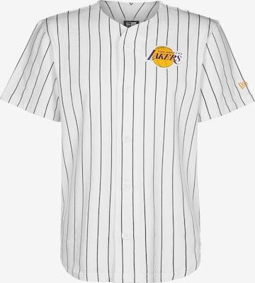 T-Shirt fonctionnel NEW ERA en blanc