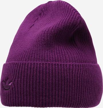 ADIDAS ORIGINALS Beanie in Purple