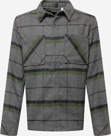 !Solid Hemd in Grau