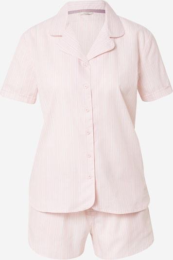 ESPRIT Pyjama in de kleur Pastelroze / Wit, Productweergave