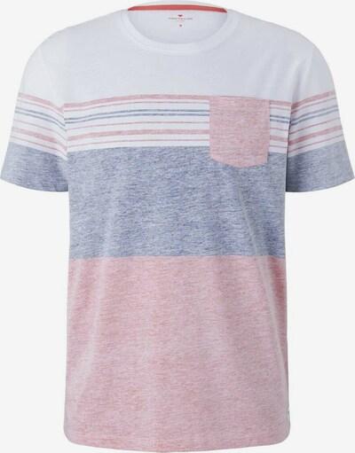 TOM TAILOR Shirt in de kleur Blauw / Pink / Wit, Productweergave