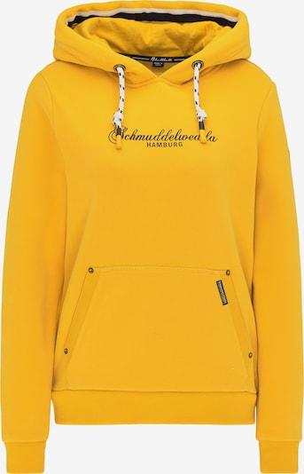 Schmuddelwedda Sweatshirt 'Hamburg' in Night blue / Yellow, Item view