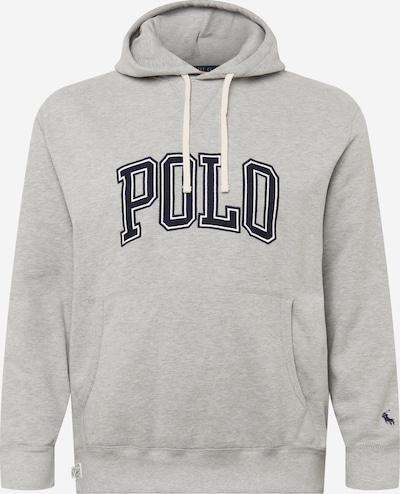 Polo Ralph Lauren Big & Tall Sweat-shirt en bleu nuit / gris clair / blanc, Vue avec produit