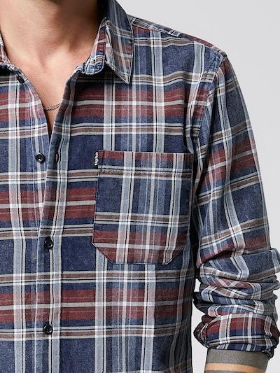 tigha Hemd  'Mic' in blau / rot / weiß, Produktansicht
