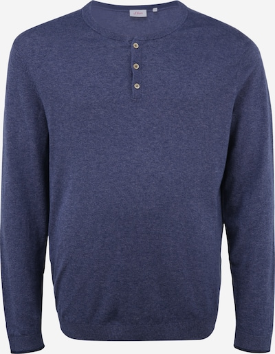 s.Oliver Red Label (Big&Tall) Džemperis jūraszils, Preces skats