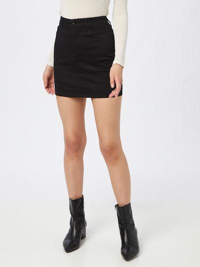 VERO MODA Spódnica 'HOTSEVEN' w kolorze czarnym: Widok z przodu