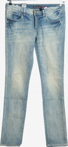 Tribeca New York Straight-Leg Jeans in 29 x 34 in Blau