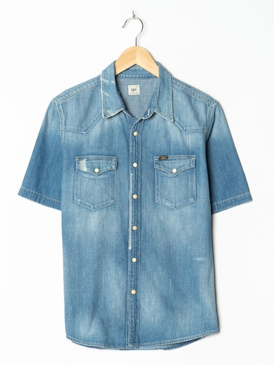 Lee Jeanshemd in S-M in blue denim, Produktansicht