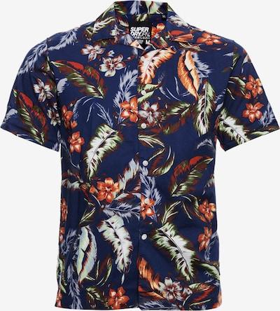 Superdry Hemd 'Hawaiian' in blau / mischfarben, Produktansicht