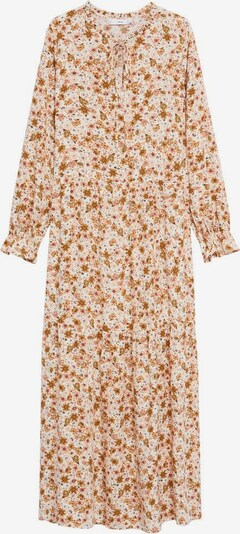 MANGO Kleid 'Eli' in nude / braun, Produktansicht