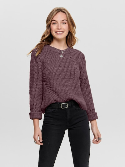 ONLY Pullover 'FIONA' in rosa, Modelansicht