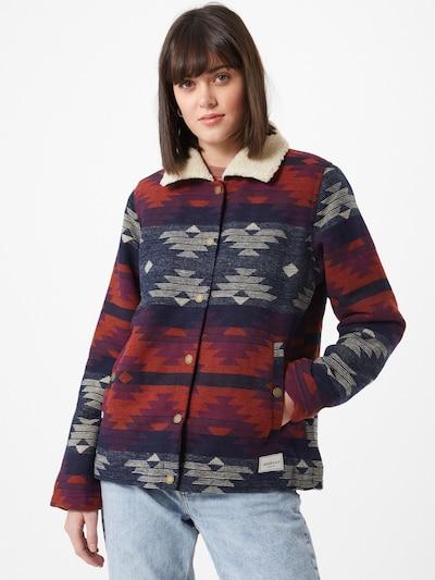 Demisezoninė striukė 'Team Sherpa' iš Iriedaily , spalva - mėlyna / pilka / raudona, Modelio vaizdas