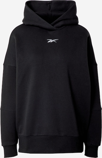REEBOK Sportsweatshirt i sort / hvid, Produktvisning