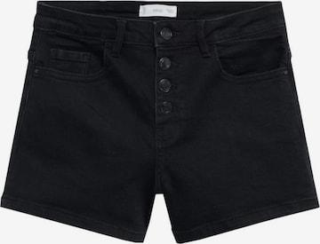 MANGO KIDS Jeans i svart
