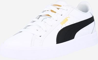 PUMA Baskets basses 'Ana' en or / noir / blanc, Vue avec produit