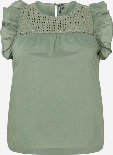 Vero Moda Curve Bluza 'LORETTA' | smaragd barva, Prikaz izdelka
