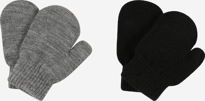 NAME IT Guantes 'MAGIC' en gris moteado / negro, Vista del producto