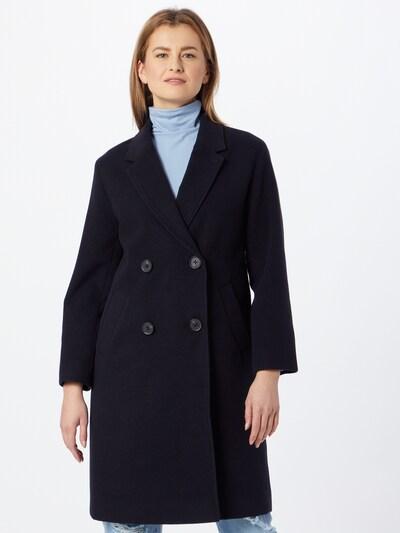 NU-IN Mantel in schwarz, Modelansicht