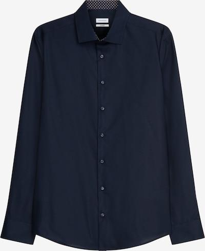 SEIDENSTICKER Business Hemd ' Shaped ' in dunkelblau, Produktansicht
