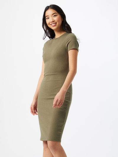 Cotton On Kleid in braun / khaki, Modelansicht