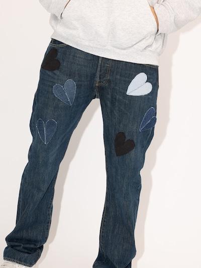 Levi's® Upcycling Jeans 'Kelvyn Colt Design 501' in blue denim: Frontalansicht
