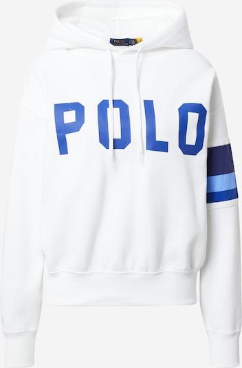 POLO RALPH LAUREN Sweat-shirt en marine / bleu ciel / blanc, Vue avec produit