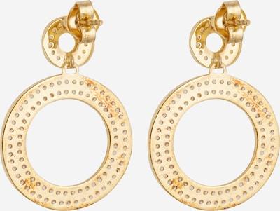 MOSUO JEWELLERY Ohrringe 'Aria' in gold / transparent, Produktansicht