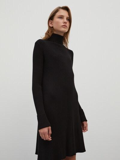 EDITED Kleid 'Conny' in schwarz, Modelansicht