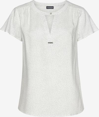 BRUNO BANANI Bluse in schwarz / weiß, Produktansicht