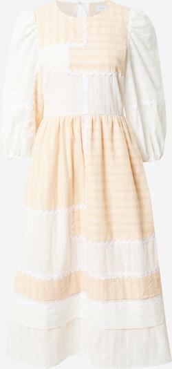 Hofmann Copenhagen Kleid 'Julietta' in creme / pfirsich / weiß, Produktansicht