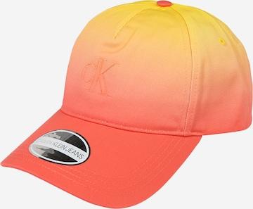 Calvin Klein Jeans Lippalakki värissä oranssi