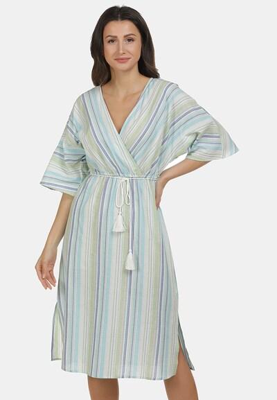 usha BLUE LABEL Kleid in taubenblau / mischfarben, Modelansicht