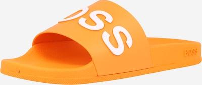 BOSS Casual Šľapky 'Bay Slid' - oranžová / biela, Produkt